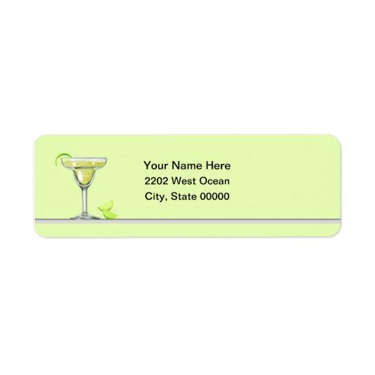 Margarita Party Return Address Label
