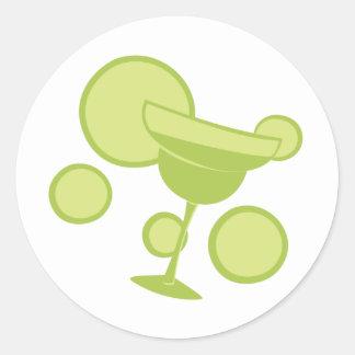 Margarita Party Round Sticker