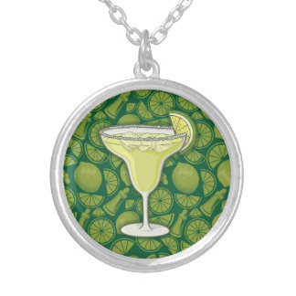 Margarita Silver Plated Necklace
