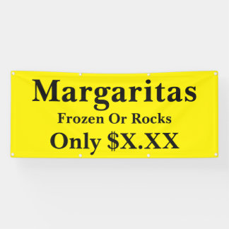 Margarita Special Edit To Suit 6 Foot Banner
