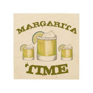 Margarita Time Cocktail Drink Kitchen Bar Decor
