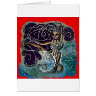 Margarita wrapped in the Eternal Waters Card