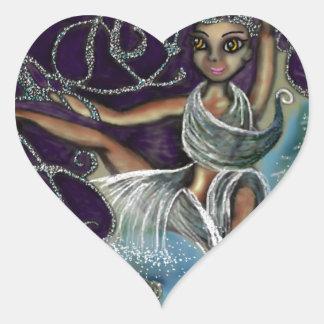 Margarita wrapped in the Eternal Waters Heart Sticker