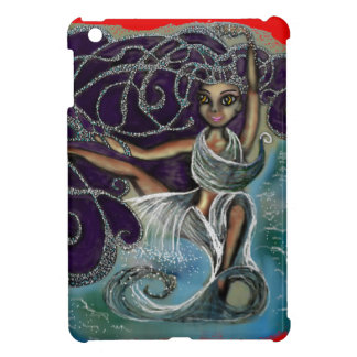 Margarita wrapped in the Eternal Waters iPad Mini Case