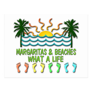 Margaritas & Beaches Postcard