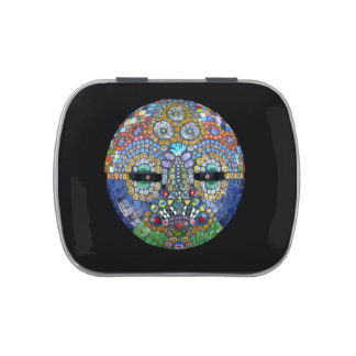 Marge Mosaic Mask Jelly Belly Tin
