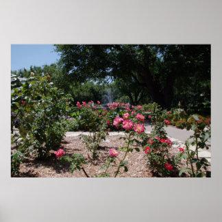 Margie Button Garden Grounds Poster