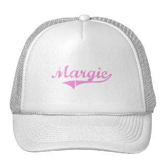 Margie Classic Style Name Mesh Hats