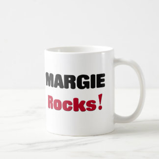 Margie Rocks Coffee Mugs