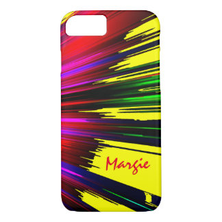 Margie Spread Colors iPhone case