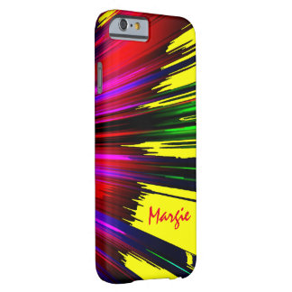 Margie Spread Colors iPhone case Barely There iPhone 6 Case