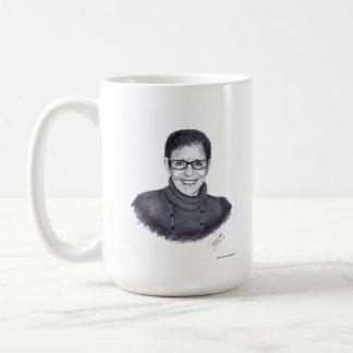 Margie's Coffee Cup Classic White Coffee Mug