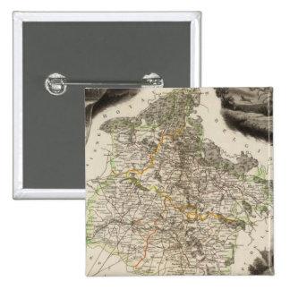 Margin illustrations 15 cm square badge