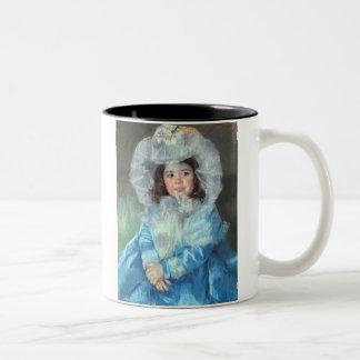 Margot in Blue, Mary Cassatt Mug