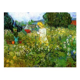 Marguerite Gachet in the Garden by van Gogh Postcard