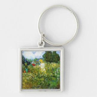 Marguerite Gachet in the Garden Key Ring