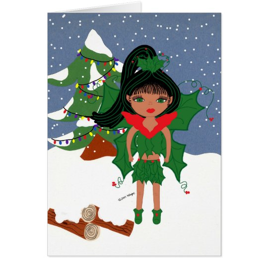 Mari Holiday Greeting Card