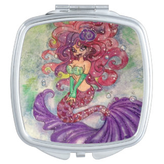 Mari Mermaid Compact Mirror
