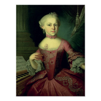 Maria-Anna Mozart, called 'Nannerl' Posters