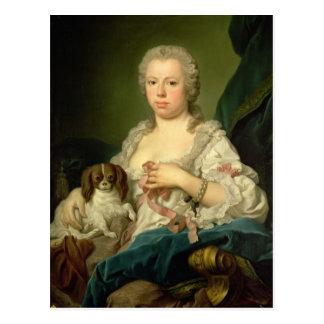 Maria-Barbara de Braganza Postcard