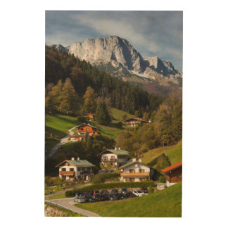 Maria Gern Village, Bavaria Wood Wall Decor