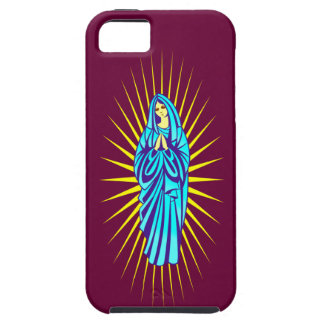 Maria Madonna Virgin Mary Tough iPhone 5 Case