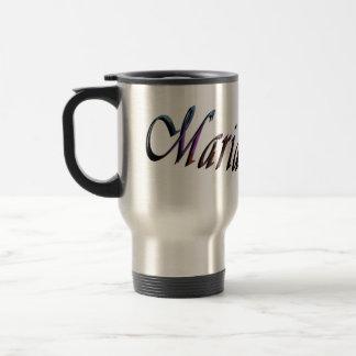 Maria, Name, Logo, Travel Commuter Coffee Mug