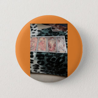 maria,s   artwork 6 cm round badge
