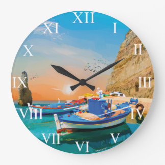 © MARIA YOU GET UP EARLY 145 Portugal Boats of Large Clock