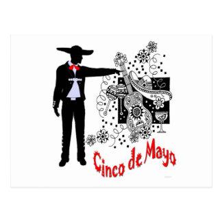Mariachi-Cinco de Mayo Postcard