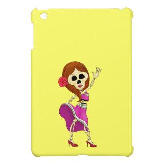 Mariachi Female Sugar Skull iPad Mini Case