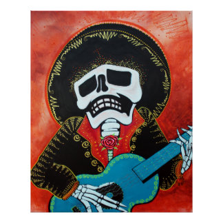 Mariachi Musician Posters