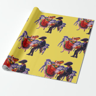 """Mariachis ~Weddin""g Wrapping Paper"
