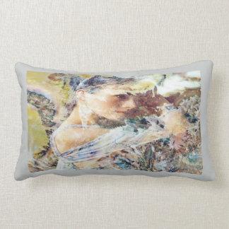 Mariah, stormy temptress of the winds lumbar cushion