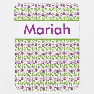 Mariah's Personalized Iris Blanket
