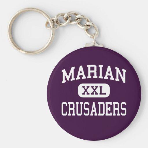 Marian - Crusaders - Catholic - San Diego Keychains