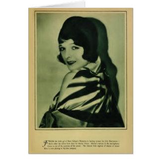Marian Nixon 1929 vintage portrait card