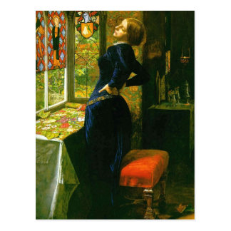 Mariana by Millais Postcard