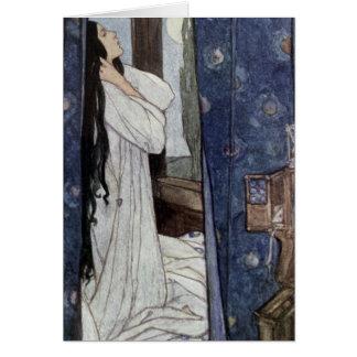 Mariana, Poem by Alfred Lord Tennyson, Card