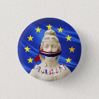 marianne frexit 3 cm round badge