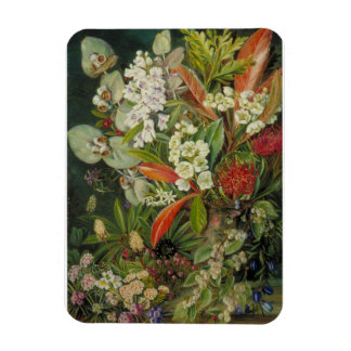 """Marianne North 'Selection of Flowers"""" Tasmania Magnet"""