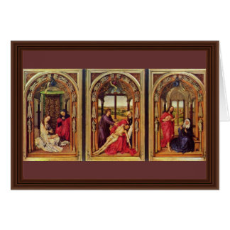 Marie Altar (Miraflores Altar) Triptych Overview Card