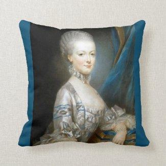 Marie Antoinette #2 Pillow Cushion