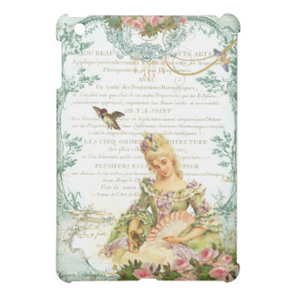 Marie Antoinette and Sparrow Cover For The iPad Mini