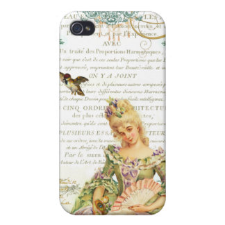 Marie Antoinette and Sparrow Covers For iPhone 4