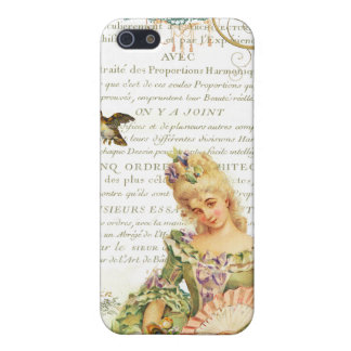 Marie Antoinette and Sparrow iPhone 5/5S Case