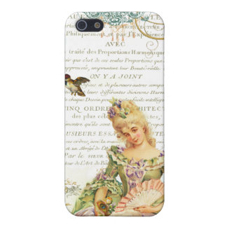 Marie Antoinette and Sparrow iPhone 5/5S Covers