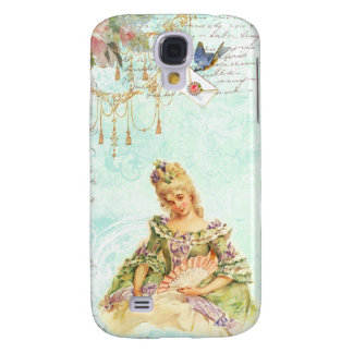 Marie Antoinette and Sparrow Samsung Galaxy S4 Case