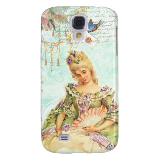Marie Antoinette and Sparrow Samsung Galaxy S4 Cover