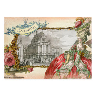 Marie Antoinette at Versaille Business Card